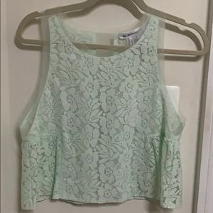 Bcbg lace top small